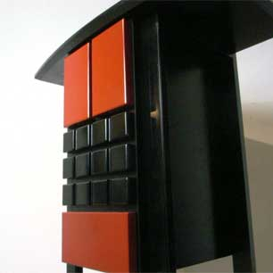 Red&Black <br>Neo-Japanesque Console
