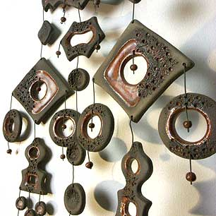 Finland  Kalevala Koru <br>Ceramic Art Wall Decoration