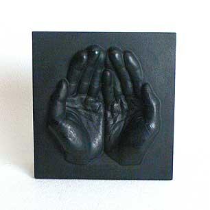Iron Hand Sculpture