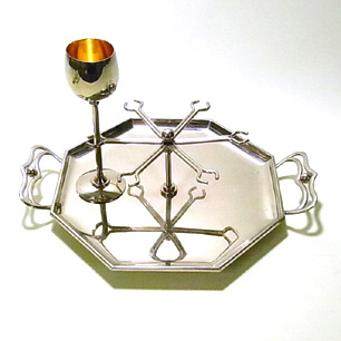 WMF ART DECO 6pcs of Sherry Glass Set
