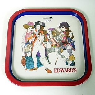 伊坂芳太良 EDWARD'S トレー(赤)