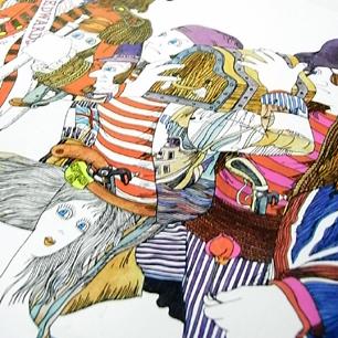 伊坂芳太良 × EDWARD'S Tray -A