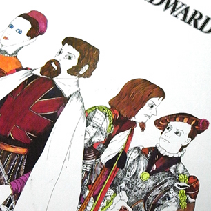 伊坂芳太良 × EDWARD'S Tray-B