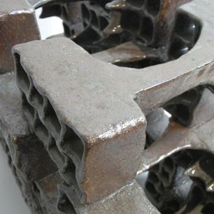 Multi Cube Ceramic Sculpture