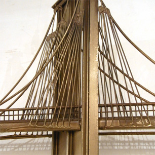 Brooklyn Bridge Wall Sculpture