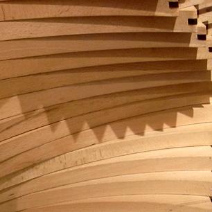 クラフトオブジェ Triangular Spiral
