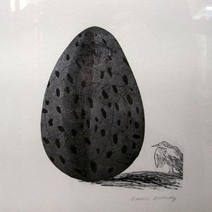 David Hockney Graphic Poster