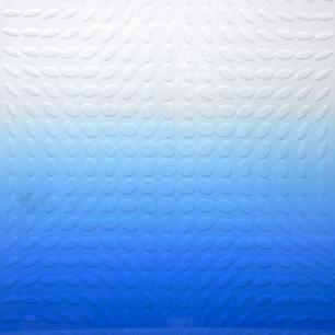 永井一正 凸凹レリーフ × Blue