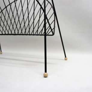 50's U.S Brass Handle × Iron Magazine Rack