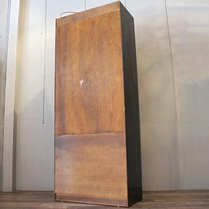 70's U.S. Teak Display Cabinet With Lighting