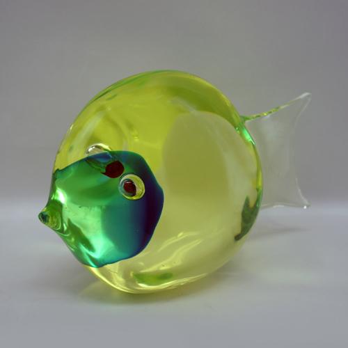 ウランガラスのVenezia Fish