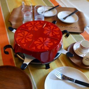 Swissの花咲く食卓
