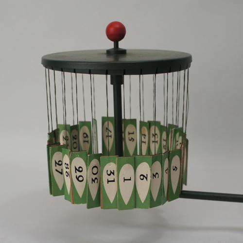 Vintage Magnetic Calendar