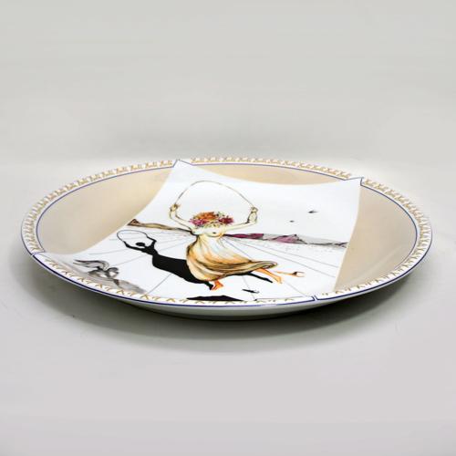 Salvador Dalí 「Joven Flor Jugando a La Comba」 Limited Plate 1979