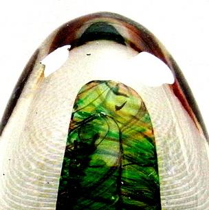 室 伸一 Art Glass Egg(A)