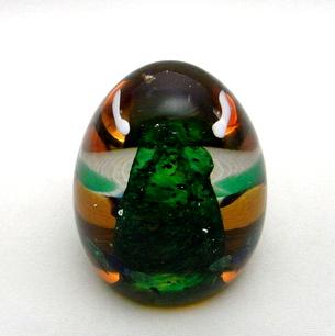 室 伸一 Art Glass Egg(C)