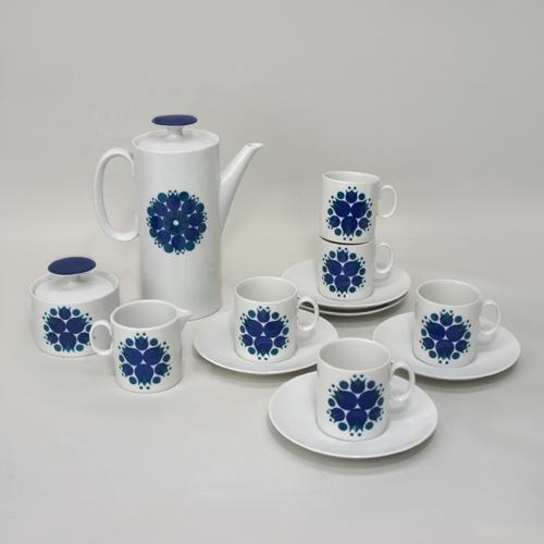 「青の花風車」Rosenthal Thomas