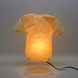 80's T-Shirt Art Lamp