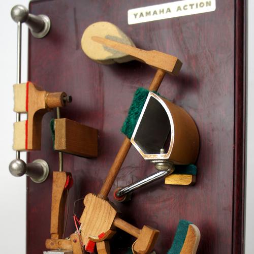 70's YAMAHA ピアノ アクションモデル