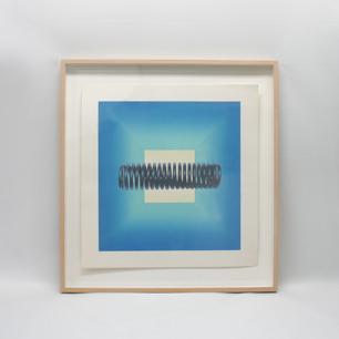 脇田愛二郎 バネと四角錐のシルクスクリーン