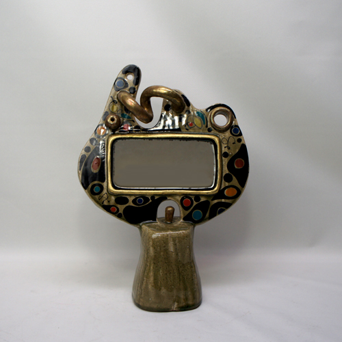 Miró Style Table Mirror