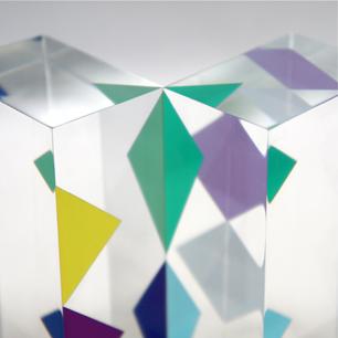 Yaacov Agam〜三角形のランデブー