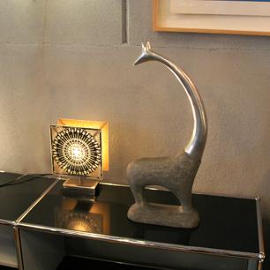 Vintage Alminium Art Sculpture