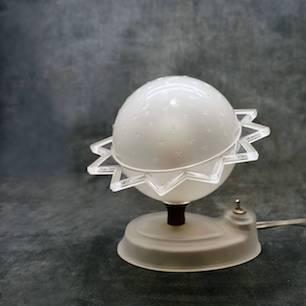 1930's Art Deco Lamp / Celestial sphere Lamp / Saturn Lamp