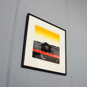 1976年 粟津潔 / Kiyoshi Awazu「春」シルクスクリーン