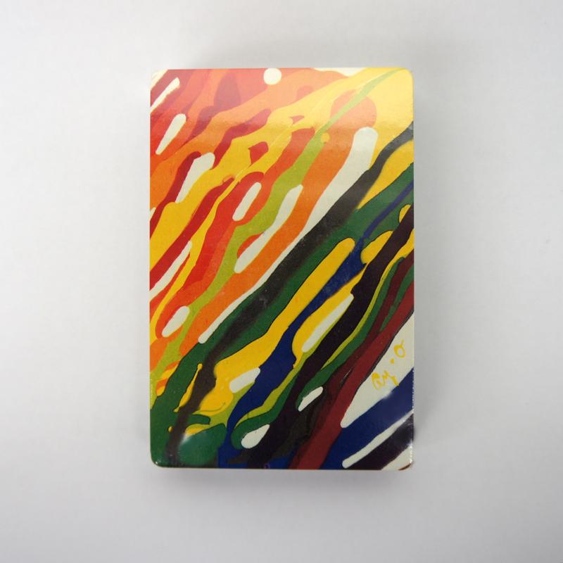 靉嘔 / Ay-O's Rainbow Playing Cards for J&B Whisky