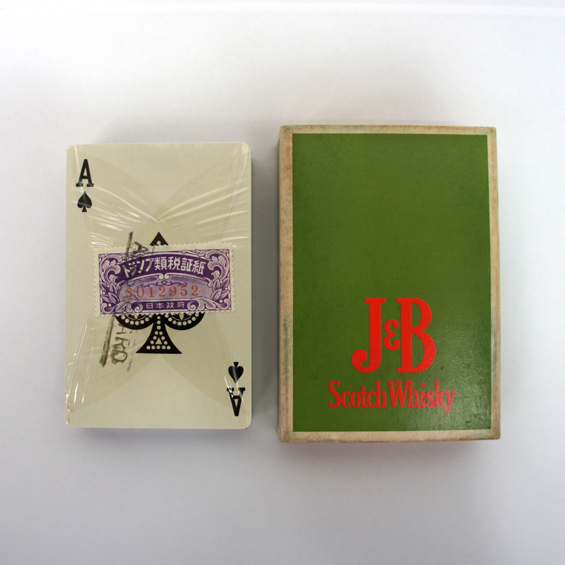 靉嘔 / Ay-O's Rainbow Playing Cards for J&B Whisky