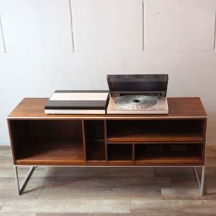 70's Denmark Bang & Olufsen MC40 Rosewood Audio Cabinet