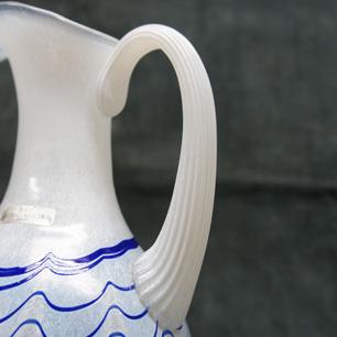 Sweden Ulrica.H.Vallien BODA Glass Pitcher