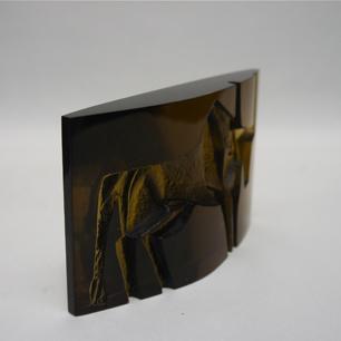 Czech Jan Černý Glass Sculpture