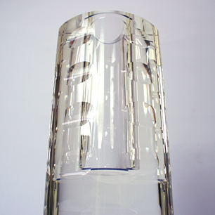 現代ガラス工芸 / Contemporary Cut Crystal Vase