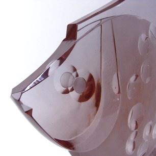 カットガラスのモダンフィッシュ