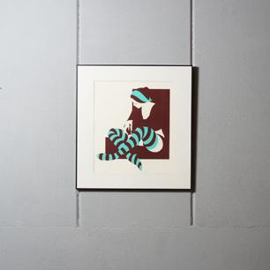 2色で描いたボディーライン Amleto Dalla Costa