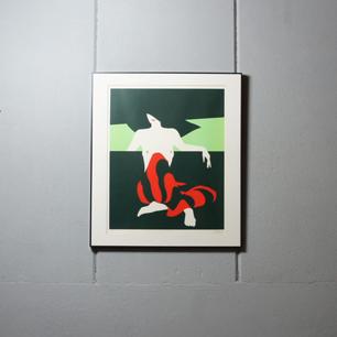 挑発する赤と黒 Amleto Dalla Costa
