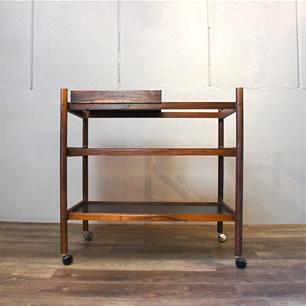 Denmark Vintage Rosewood Trolley / Wagon