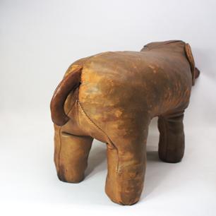 60's England Vintage Leather Animal