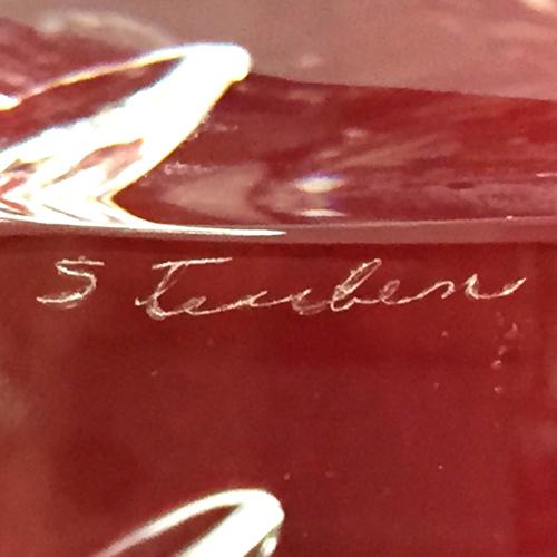 James Houston for Steuben Glass
