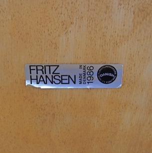 Fritz Hansen Arm Chair #9230 designed by Henning Larsen