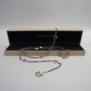 Denmark Georg Jensen Star Long Necklace
