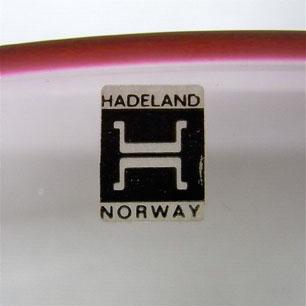 Norway Hadeland Glassverk<br/> Large Plate