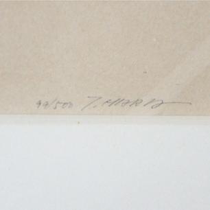 原 健 「STOROKES 80-10」 Lithograph  ED : 99 / 500