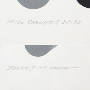原 健 「STOROKES 81-95」Silkscreen  ED : 14 / 50