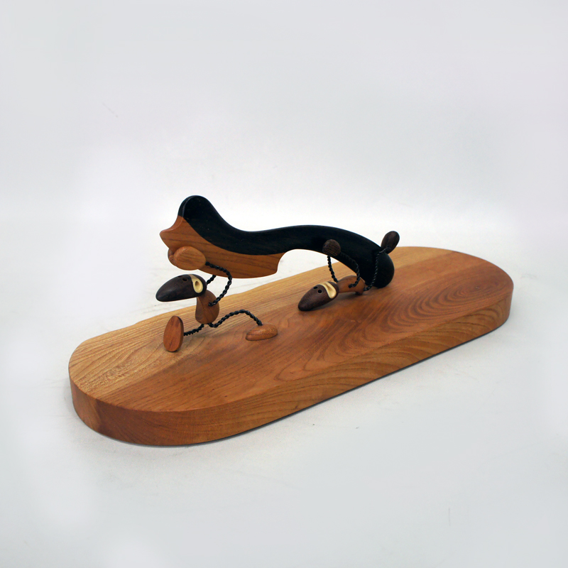 「木工房 林」 ペーパーナイフ/ウッドオブジェ