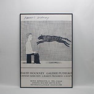 ホックニーの描くグリム童話