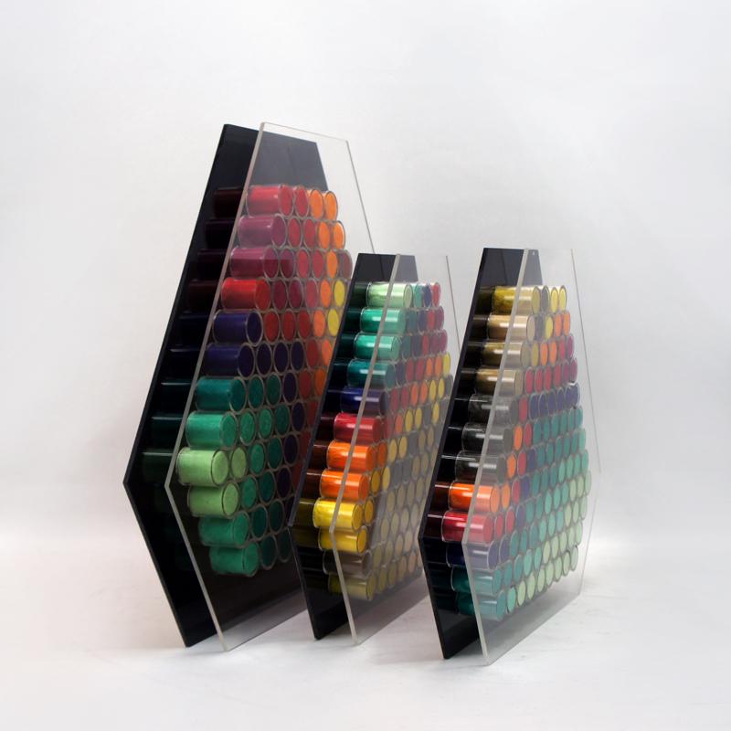染織作家 坂巻郁代「フェルトによる色構成」