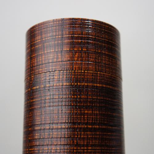 人間国宝 川北良造 精緻の筒